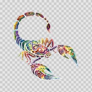 Floral Scorpion 13447