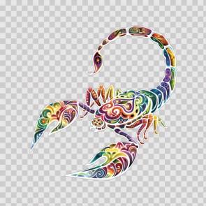 Floral Scorpion 13448