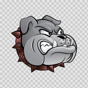 Bulldog Head 13456