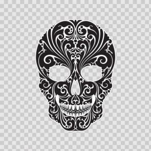 Floral Skull 13459