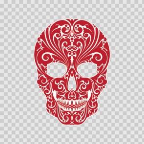 Floral Skull 13460