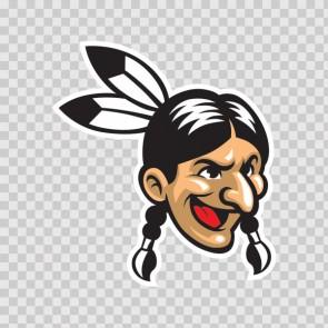 Indian Mascot 13488