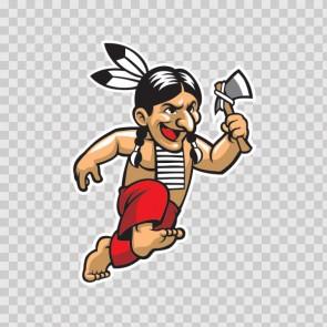 Indian Mascot 13489
