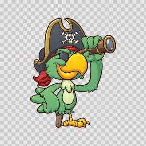 Pirate Parrot Cartoon 13718