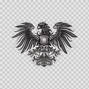 Heraldic Eagle 13719
