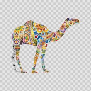 Floral Camel 13727
