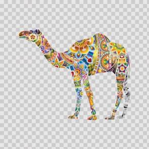 Floral Camel 13728