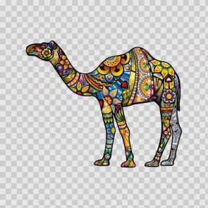 Floral Camel 13729