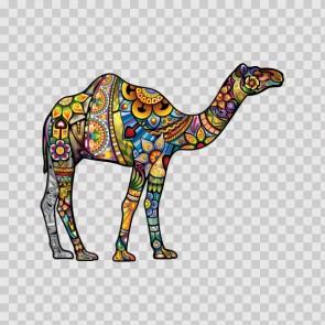 Floral Camel 13730
