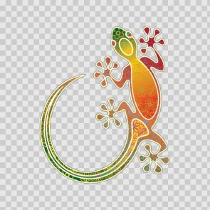 Colorful Lizard Gecko 13752