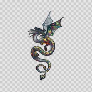 Floral Dragon 13764