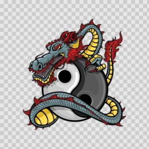 Yin Yang Dragon 13767