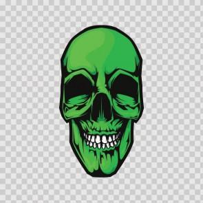 Green Skull 13777