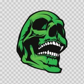 Green Skull 13780