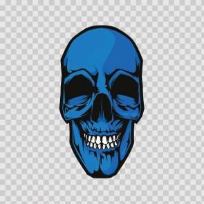 Blue Skull 13790