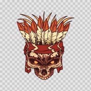 Indian Skull 13801