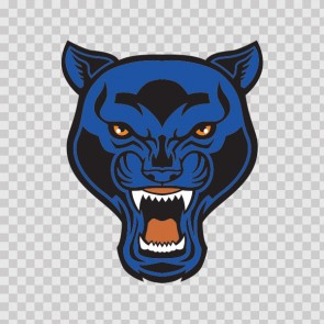 Blue Panther Head 13816