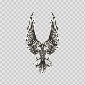 Heraldic Eagle 13836