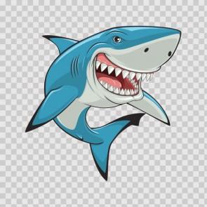 Shark Smiling Jaws 13857