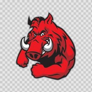 Razorback Mascot 13863