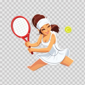 Tennis Player Chic 13870