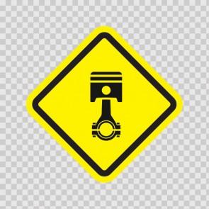 Mechanic Area Sign 13894