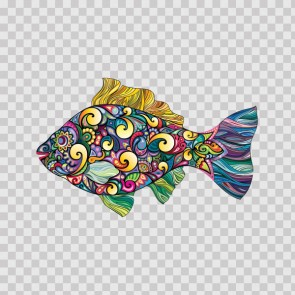 Floral Fish 13901