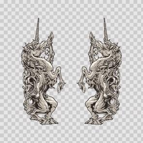 Unicorn Heraldic 13914