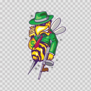 Bee Wasp Hornet Mafia Gangster 13917