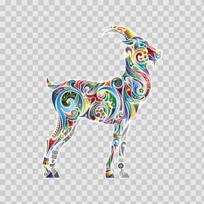 Floral Antilope Goat Gazelle 13975