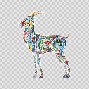 Floral Antilope Goat Gazelle 13976