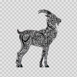 Floral Antilope Goat Gazelle 13977