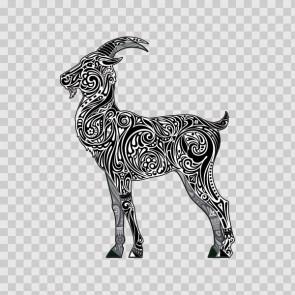 Floral Antilope Goat Gazelle 13978