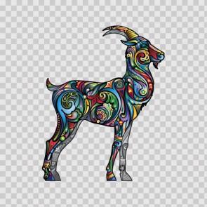 Floral Antilope Goat Gazelle 13979
