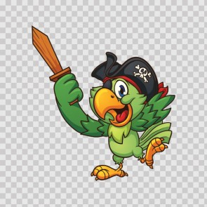 Pirate Parrot 13984