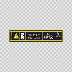 Bike Is Gps Protected 14082