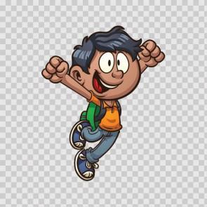 Little Cartoon Boy 14175