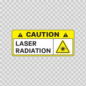 Caution Laser Radiation 14327