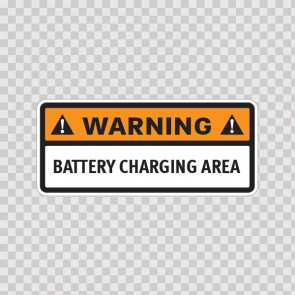 Warning. Battery Charing Area. 14380