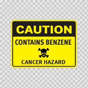 Caution Contains Benzene Cancer Hazard 14401