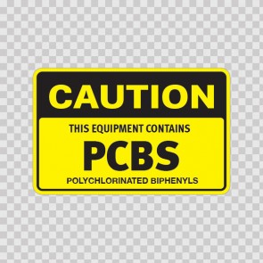 Caution This Equipment Contains Pcbs Polychlorinated Biphenyls 14403
