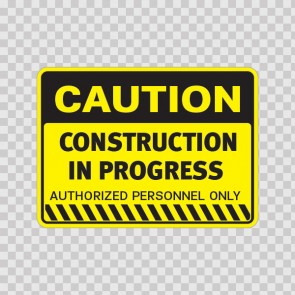 Caution Construction In Progress 14414