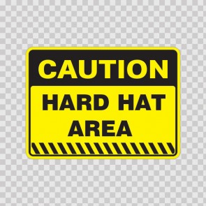 Caution Hard Hat Area  14415