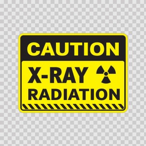 Caution X-Ray Radiation  14435