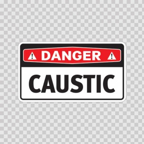 Danger Caustic 14458