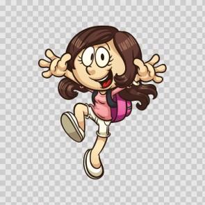 Little Cartoon Girl 14603