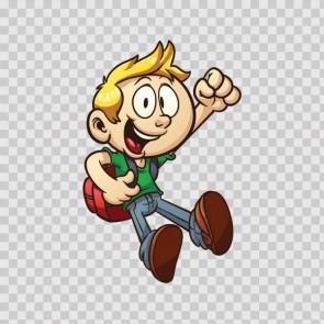 Little Cartoon Boy 14604