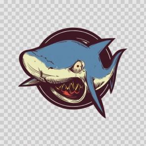 Shark Attack Sign 14606