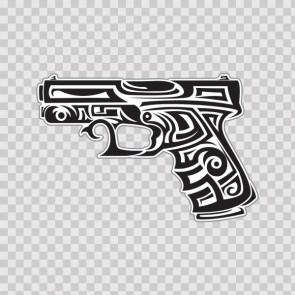 Tribal Gun 14736