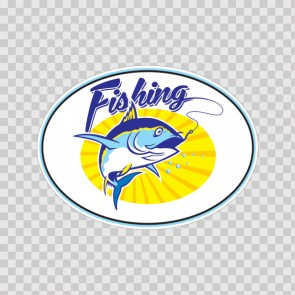 Fishing Tuna Sign 14849